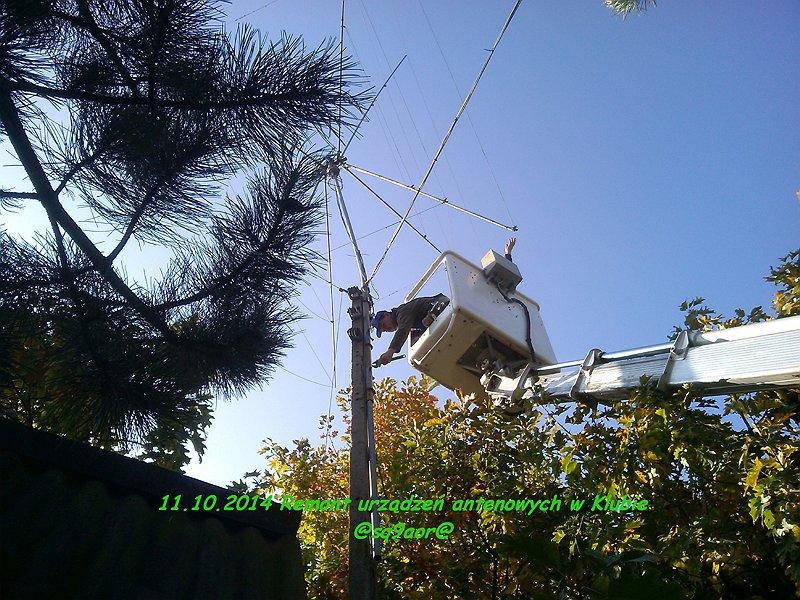 Remont anten 10.2014r